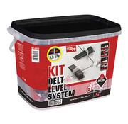 Rubi Rubi Delta Levelling Systeem Kit 100 2 mm