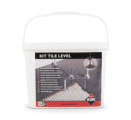 Rubi Rubi Tile Levelling Kit 100 st. Voetjes + 100 st. Kapjes + Tang
