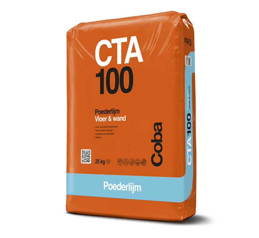 Coba Tegellijm CTA 100 25 kg.
