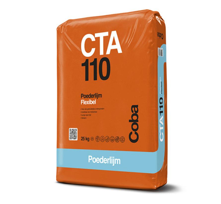 Coba CTA 110 Tegellijm 25 kg.