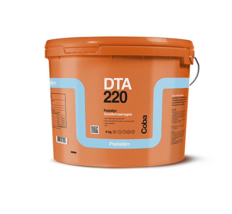Coba DTA 220 Pasta Tegellijm 6 kg. Grootformaat Tegels