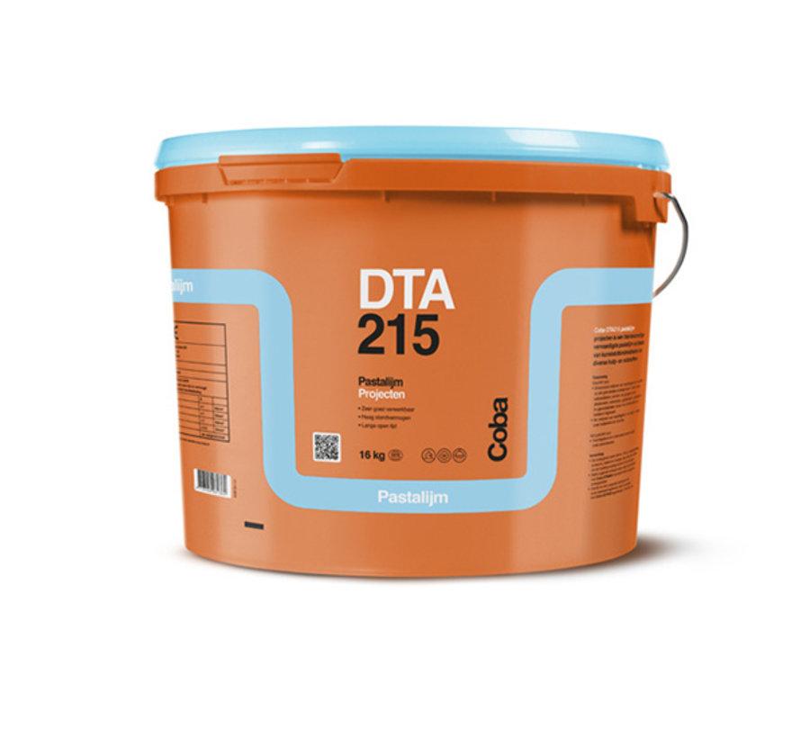 Coba DTA 215 Pasta Tegellijm 16 kg.