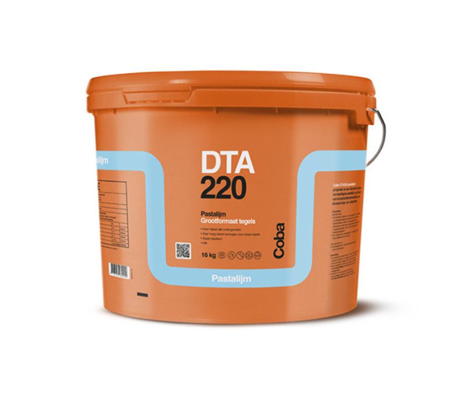 Coba DTA 220 Pasta Tegellijm 16 kg. Grootformaat Tegels