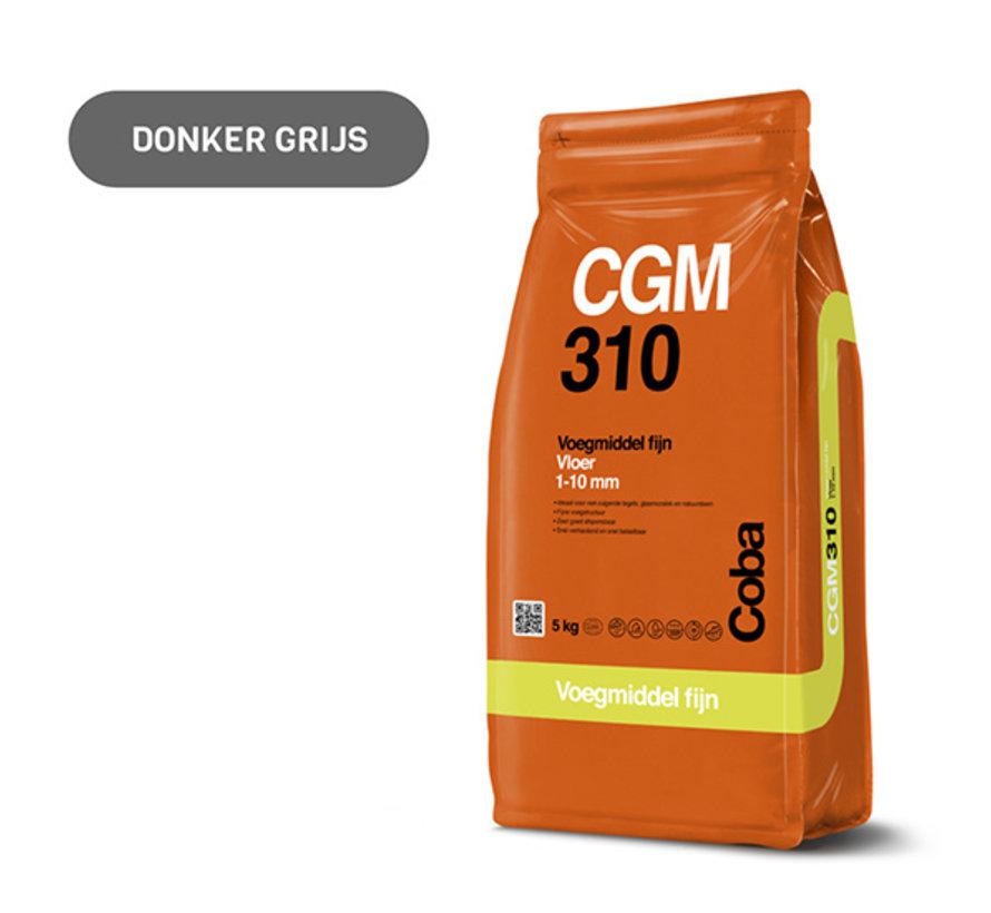 Coba CGM 310 Donkergrijs 5 kg. Vloertegels Fijn