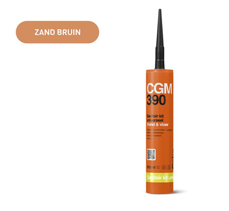 Coba CGM 390 Sanitairkit 310 ML. Wand & Vloer Zand Bruin