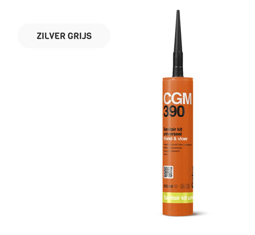 Coba CGM 390 Sanitairkit 310 ML. Wand & Vloer Zilvergrijs