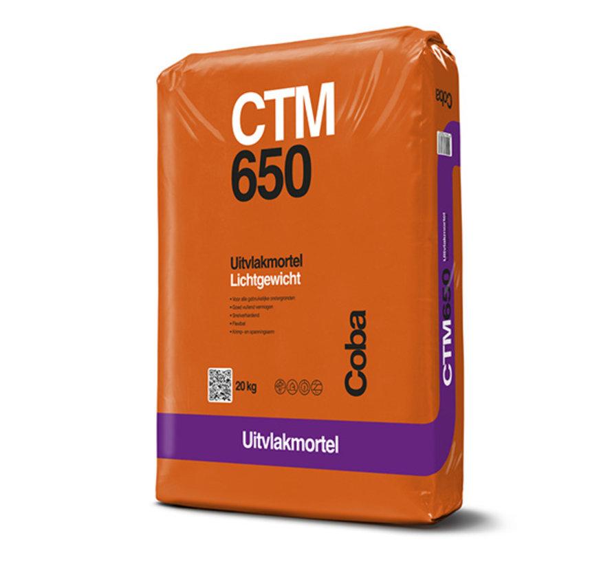 Coba CTM 650 Uitvlakken 2-20 mm. 20 kg.