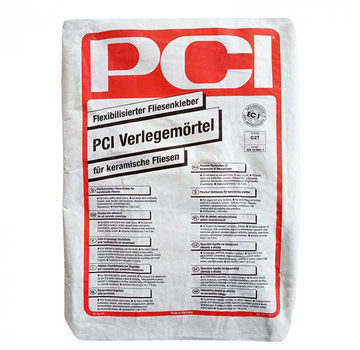 PCI PCI Tegellijm Basic Flex 20 kg. Verlegemoertel
