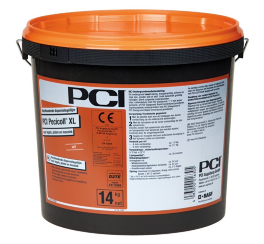 PCI Pecicoll XL Pasta Tegellijm 14 kg.