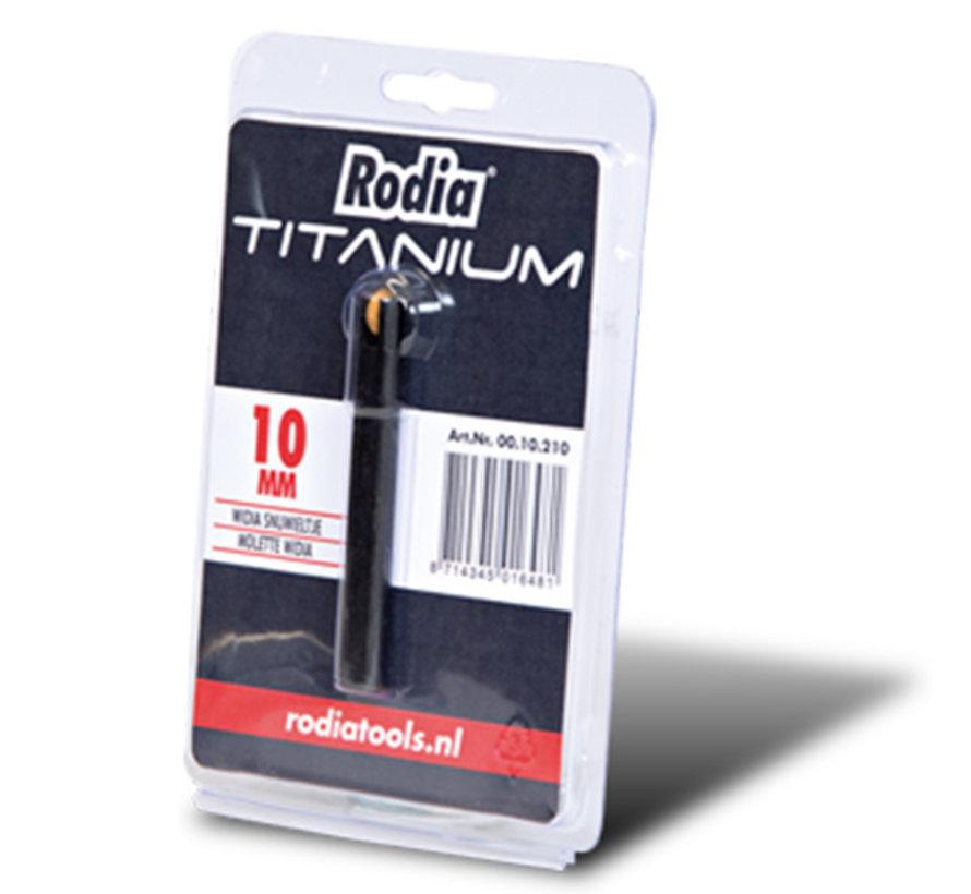 Rodia Titanium Snijwieltje 10 mm