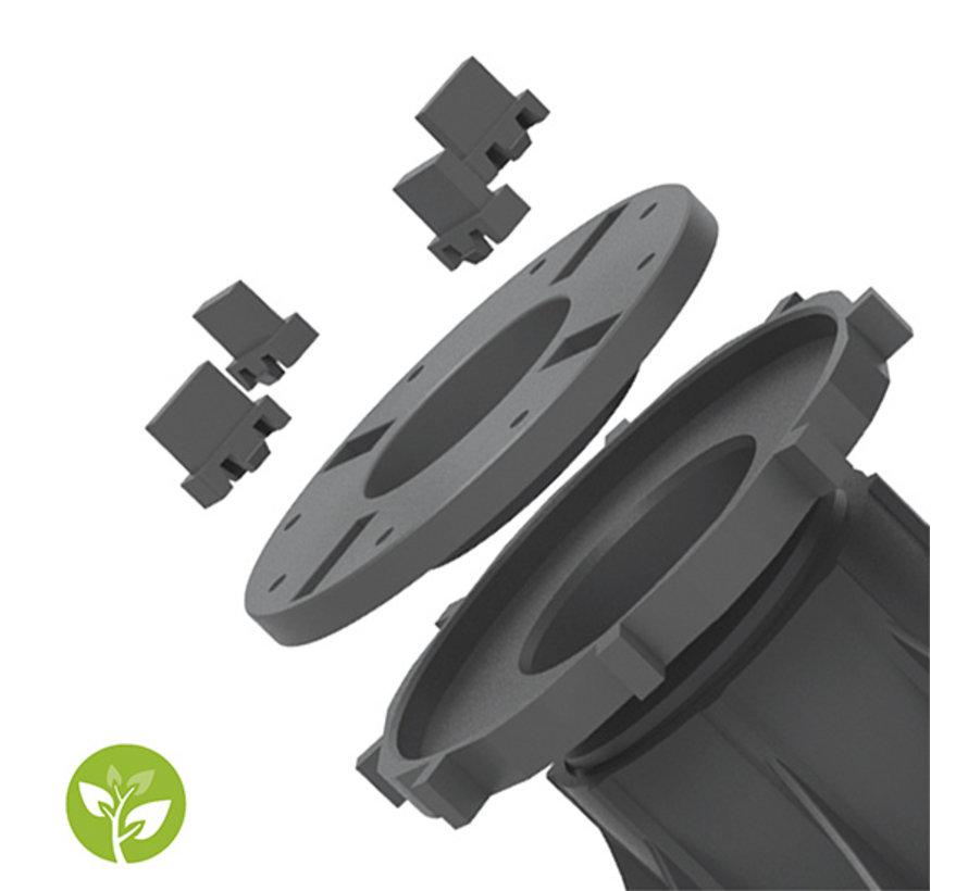 Fix Plus ® Tegeldrager BS60-06 Verstelbaar 126 - 155 mm