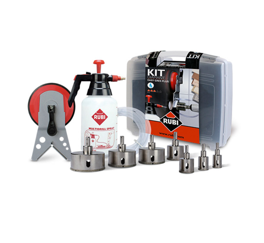 Rubi Easy Gres Kit Borenset Plus
