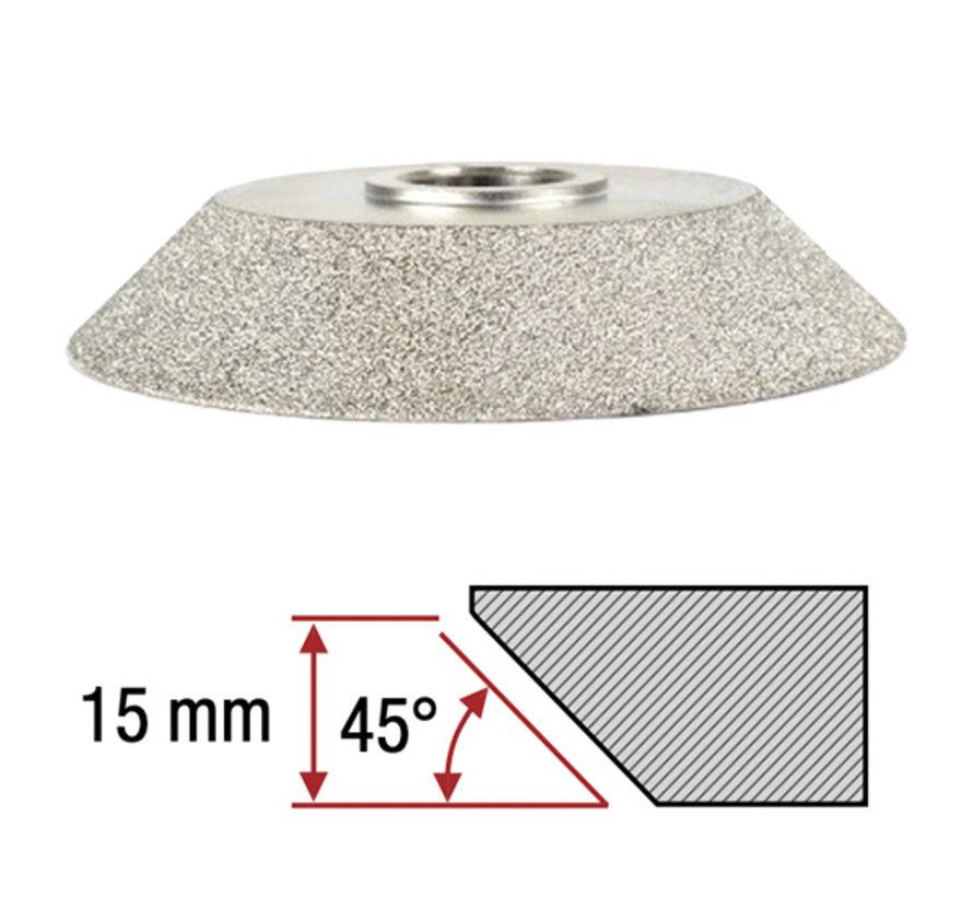 Montolit Diamant Frees Toprofile 45º 15 mm Fijn