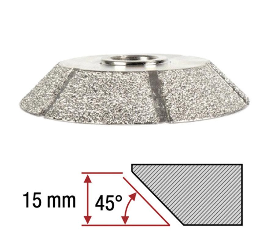 Montolit Diamant Frees Toprofile 45º 15 mm
