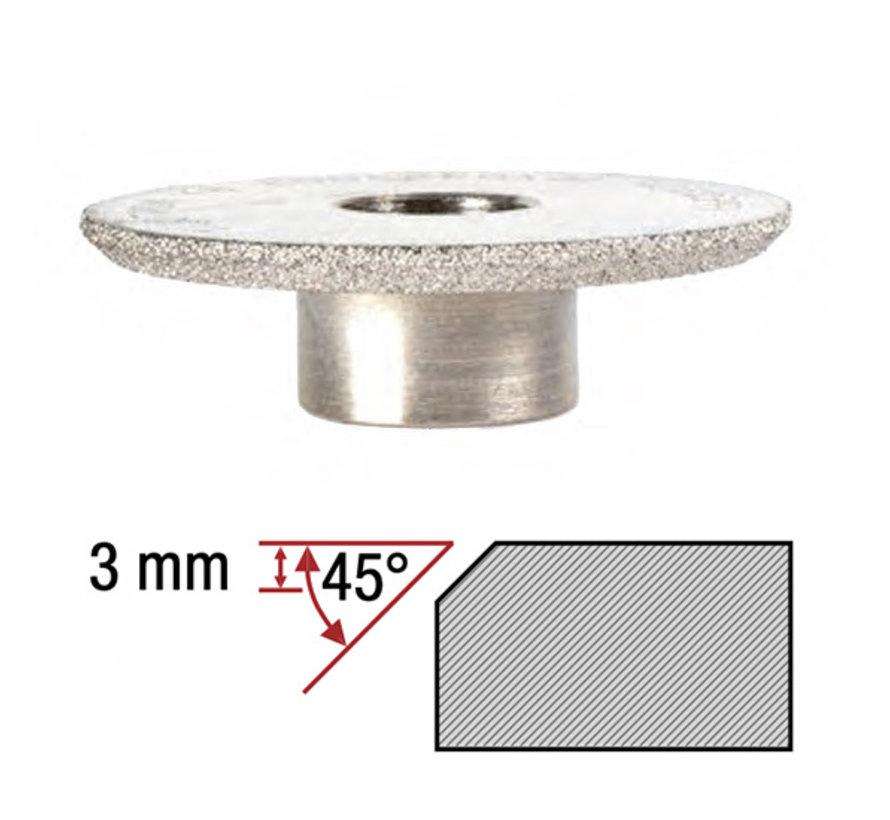 Montolit Diamant Frees Toprofile 45º 3 mm