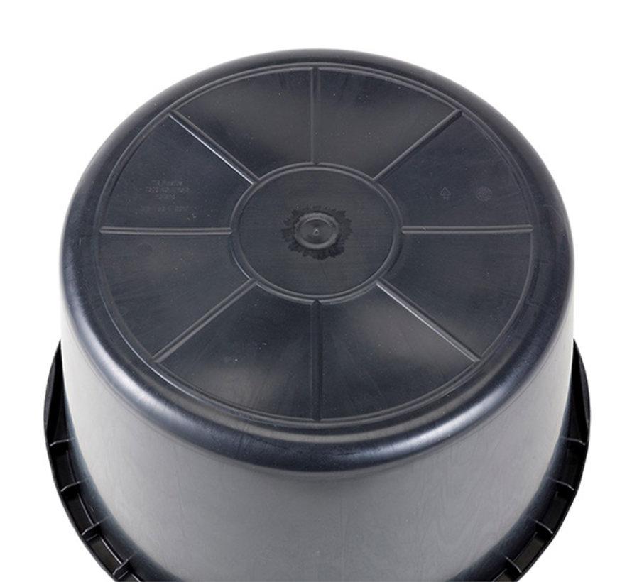 Mortelkuip 90 Liter Zwart