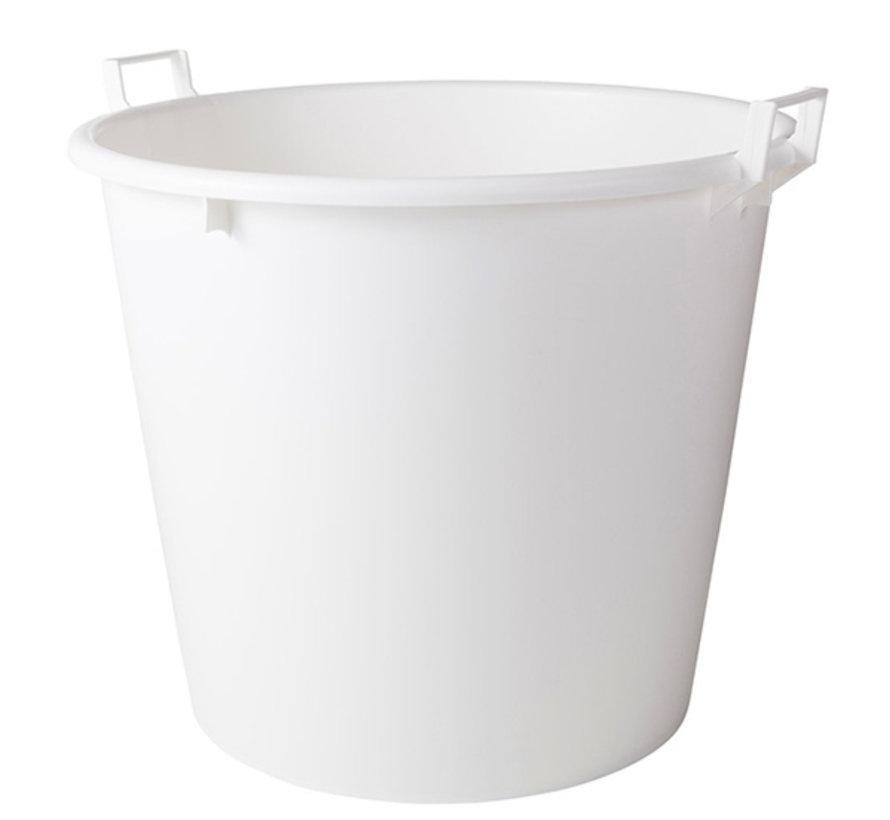 Mortelkuip wit 125 liter