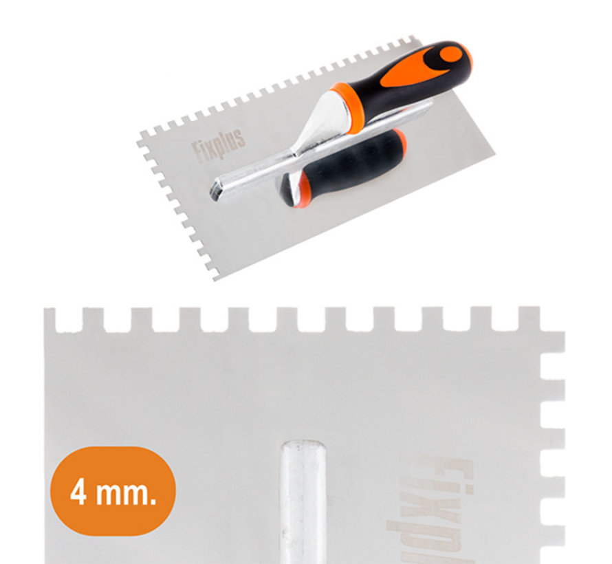 Fix Plus ® Lijmkam RVS 4mm.