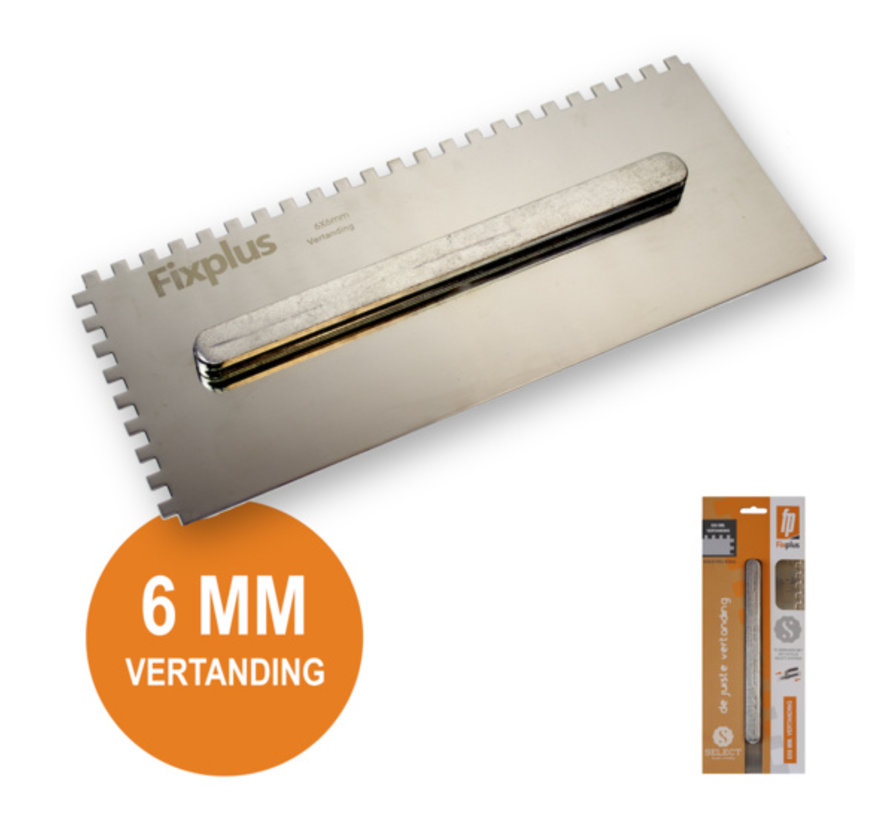 Fix Plus ® Select Lijmkam 6 mm.
