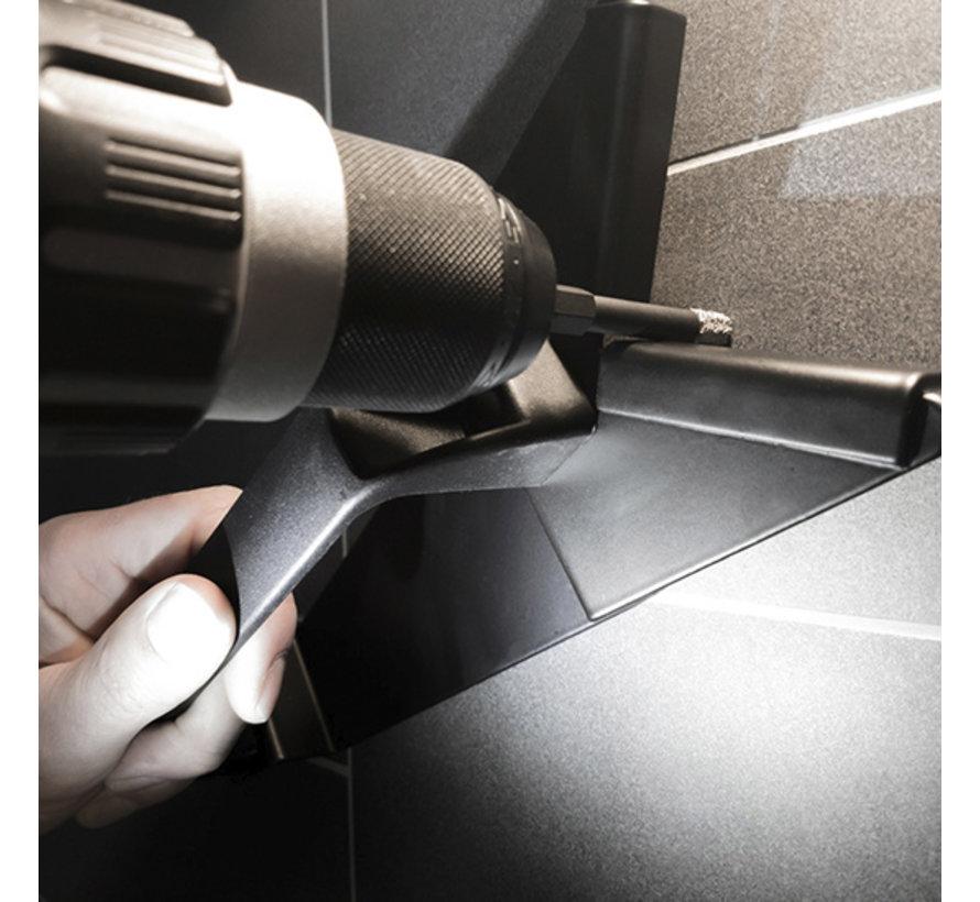 Black Power diamant tegelboor 60mm; verpakt per 2 stuks