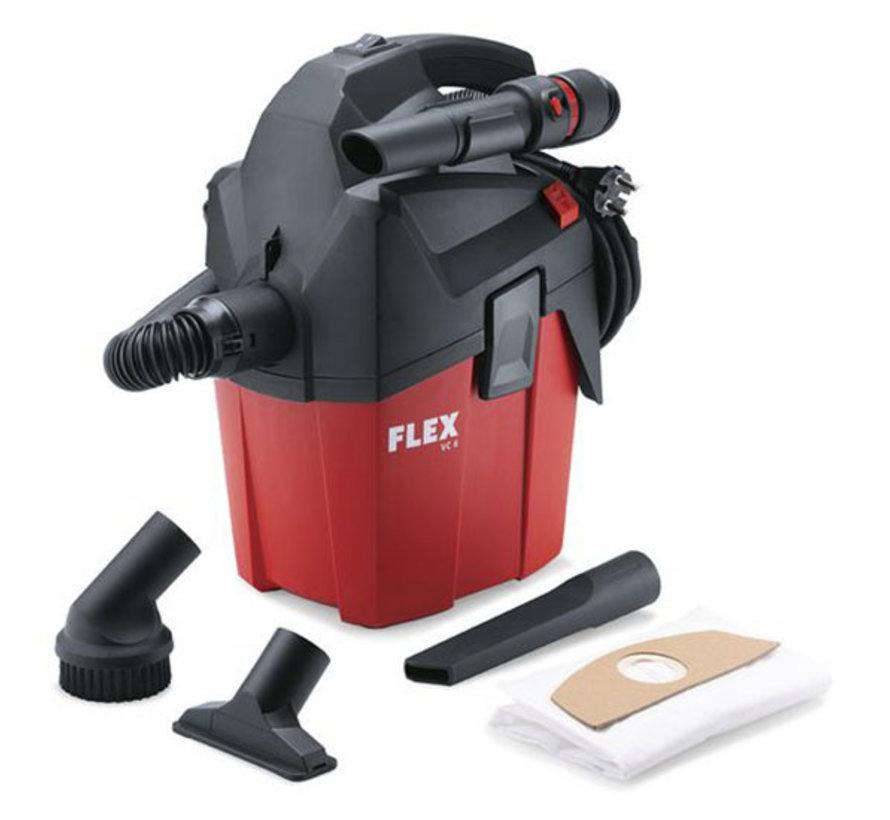 Bouw Stofzuiger met handmatige filterreiniging 6 L