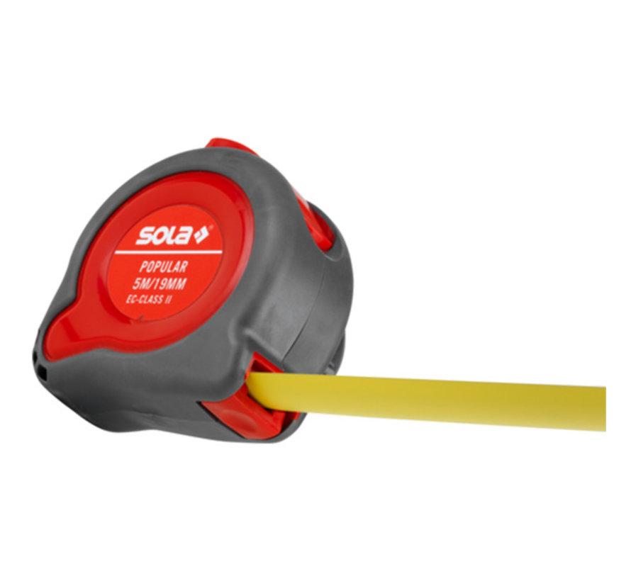 Sola Rolmaat 5 meter met automatische terugloop