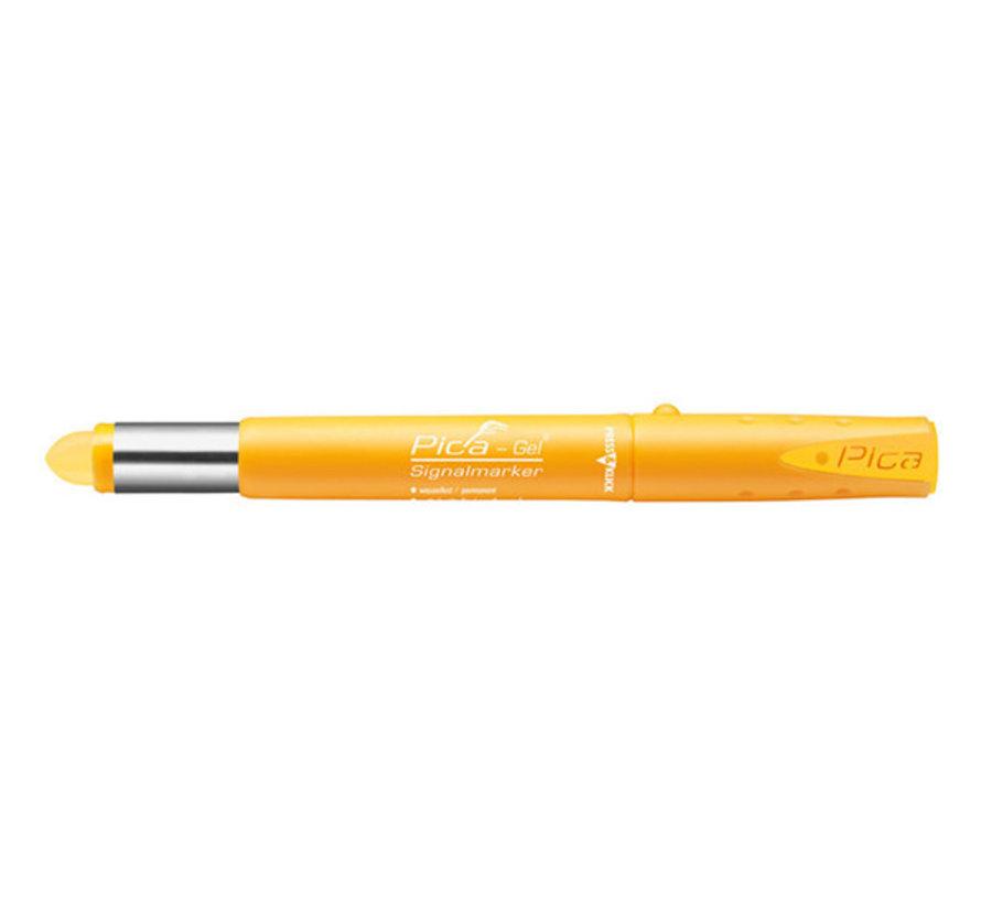 Pica Gel marker Geel