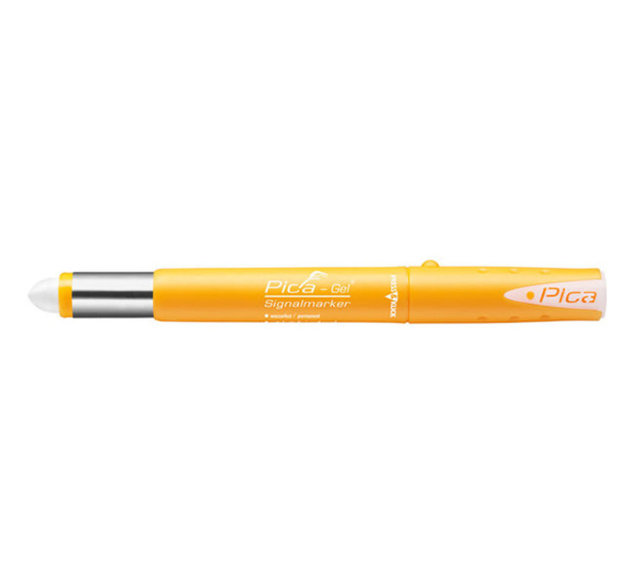 Pica Gel marker Wit
