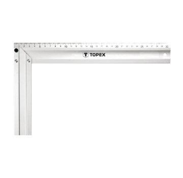 Topex Winkelhaak Aluminium 30 cm