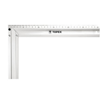 Topex Winkelhaak Aluminium 35 cm