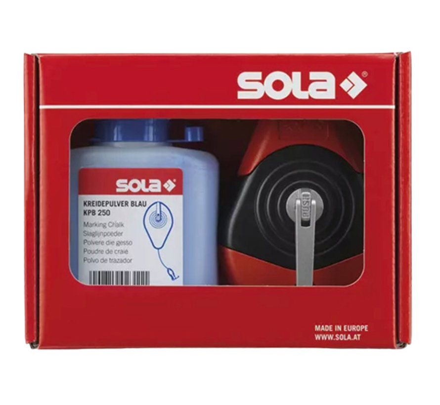 Smetlijn Sola CLP 30 Set Blauw