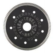 InterDynamics Diamantzaag Black Power Standard 125mm