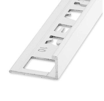 Ox Tegelprofiel ELTEX Alu recht wit 12,5 x 2700 mm