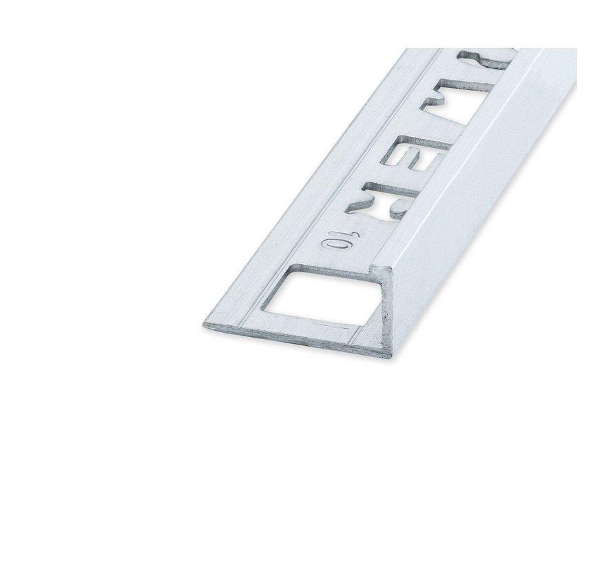 ELTEX Alu recht matzilver 12,5 x 2700 mm