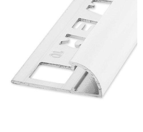 Ox Tegelprofiel RONDEX Alu rond wit 12,5 x 2700mm