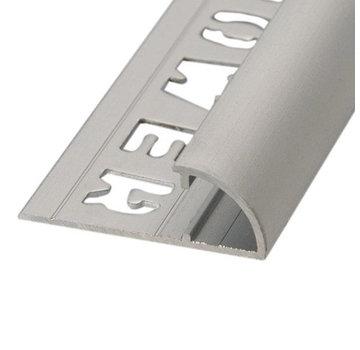 Ox Tegelprofiel RONDEX Alu rond matzilver 10 mm