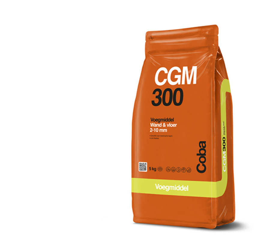 Coba CGM 300 Kiezel Grijs 5 kg. Vloertegels Fijn