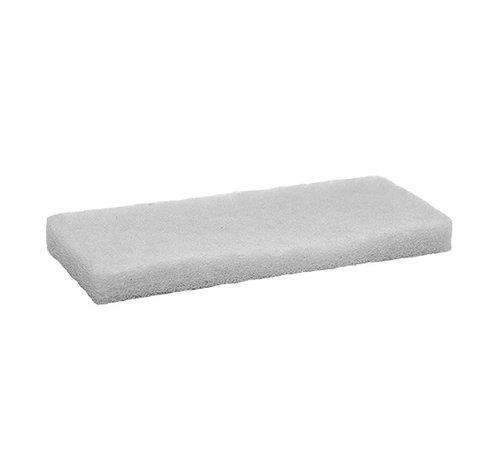 Moeller Stone Care Doodlebug Schrobpad 11,5x25cm WIT  (5 stuks)