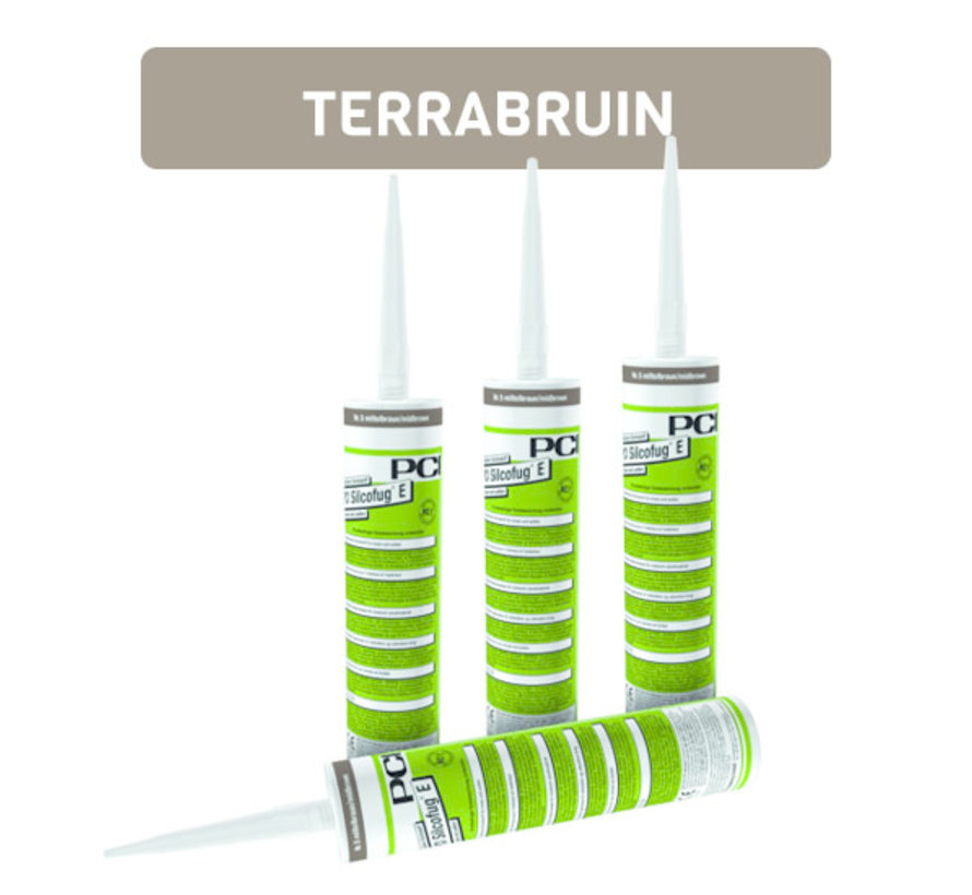 PCI Silcofug E Nr. 56 Terrabruin