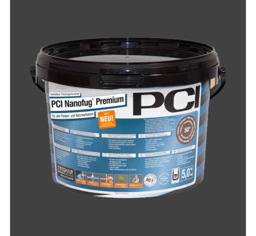 PCI Nanofug ® Premium Nr. 61 Leigrijs 5 kg.