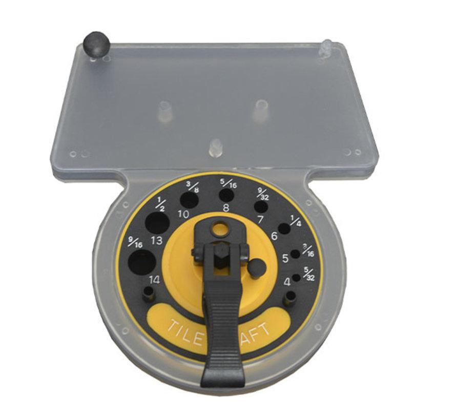 Black Power Boorgeleider met waterreservoir (4-14mm)