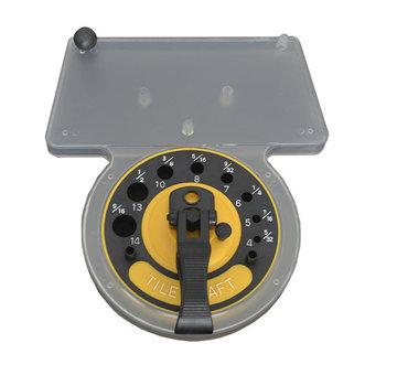 InterDynamics Black Power Boorgeleider met waterreservoir (4-14mm)