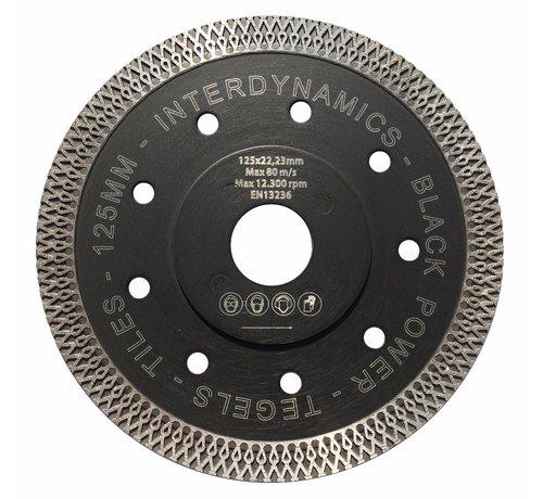 InterDynamics Diamantzaag Black Power Premium 125mm