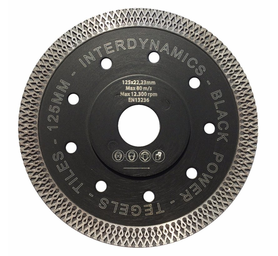 Diamantzaag Black Power Premium 125mm