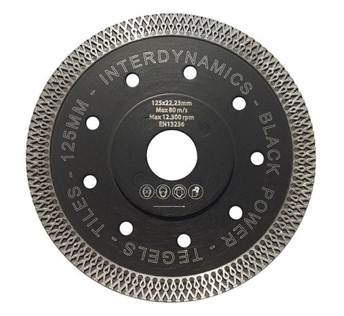 InterDynamics Diamantzaag Black Power Premium 115mm