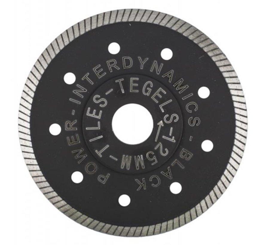 Diamantzaag Black Power Standard 125mm