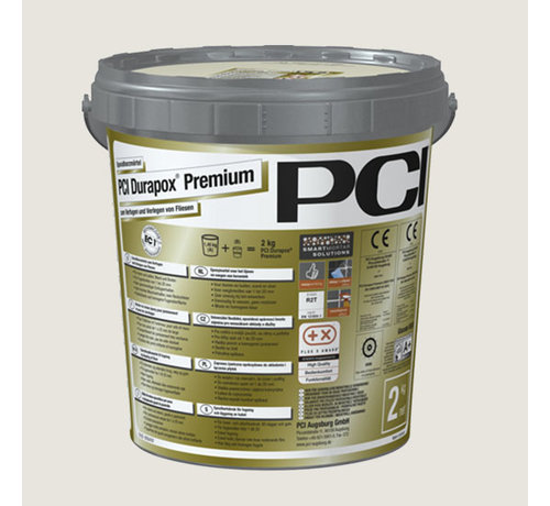 PCI PCI Durapox Premium Nr. 16 Zilvergrijs 2 kg.