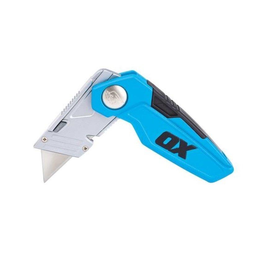 OX Pro Vouwmes met vast mes