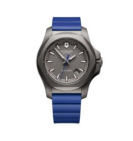 Victorinox Victorinox 241759 I.N.O.X Titanium Grey Dial Blue Rubber