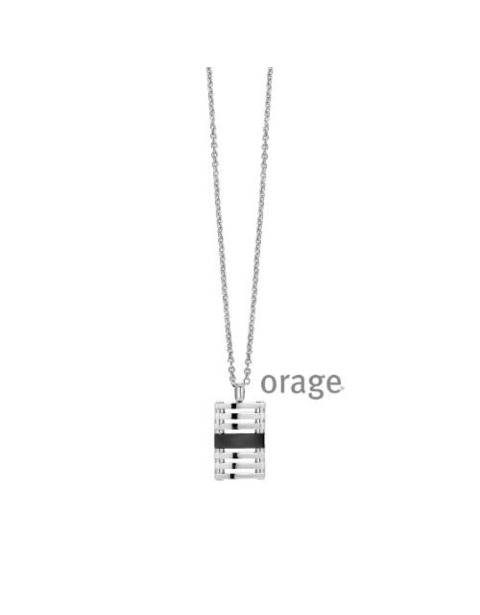 Orage Orage AH104 Halsketting Heren Staal
